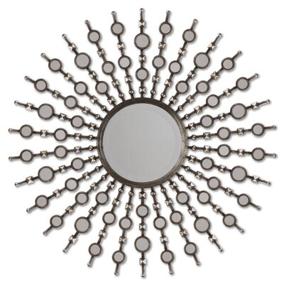 Uttermost Kimani Mirror in Antiqued Silver
