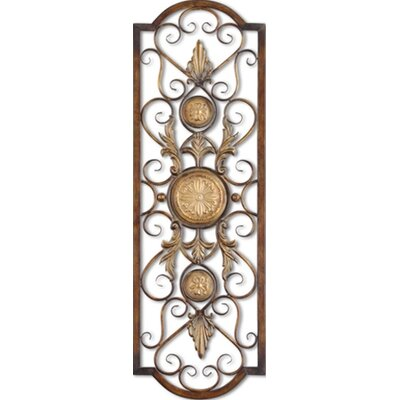 Uttermost Micayla Panels Wall Art in Antiqued Gold - Set of 2