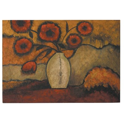 Red Poppies Canvas Oil Painting