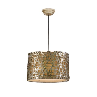 Uttermost Alita 3 Light Drum Foyer Pendant