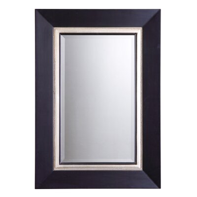 Warhol Beveled Vanity Mirror in Matte Black