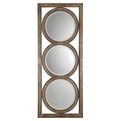 Isandro Mirror in Silver Undertone