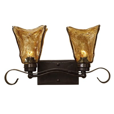 Uttermost Vetraio 2 Light Vanity Strip