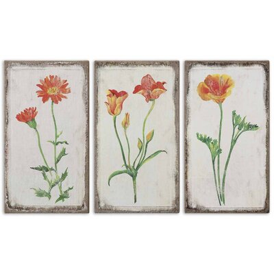 3 Piece Casual Change by Grace Feyock Wall Art Set - 22.25