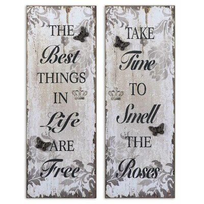 2 Piece Sayings by Grace Feyock Wall Art Set - 36