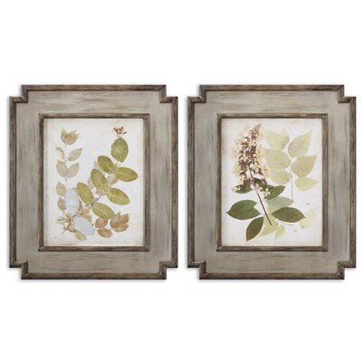 2 Piece Natures Collage by Grace Feyock Wall Art Set- 29.25