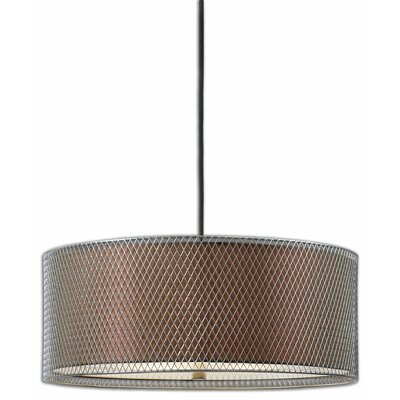 Uttermost Catalan 3 Light Drum Pendant