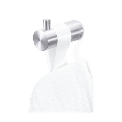 ZACK Civio Towel Hook in Stainless Steel