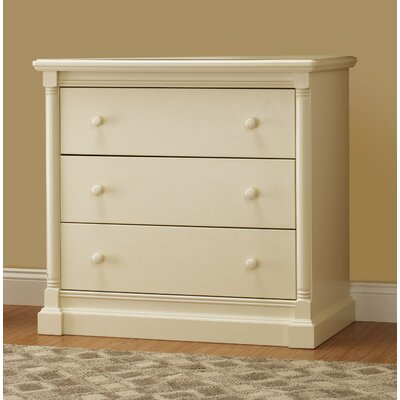 Orbelle Trading Imperial 3 Drawer Chest