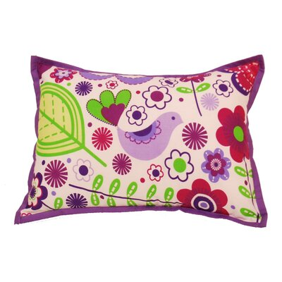 Bacati Botanical Sanctuary Decorative Pillow