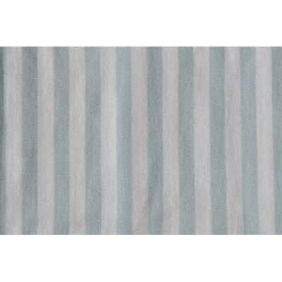 Bacati Jersey Knit Stripes Crib Fitted Sheet