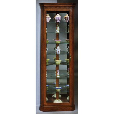 Lighthouse Octave Corner Curio Cabinet