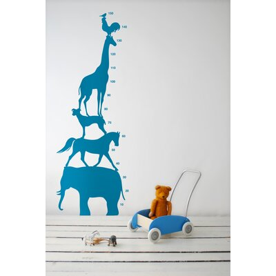 ferm LIVING Animal Tower Kids Wall Sticker