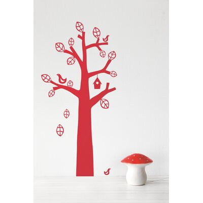 ferm LIVING Bird Tree Kids Wall Sticker