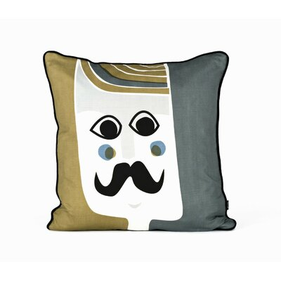 ferm LIVING Mr. Cushion Silk Accent Pillow