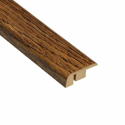 "Home Legend 0.5"" x 1.25"" Laminate Oak Carpet Reducer in Caramel"