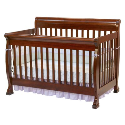 DaVinci Kalani Two Piece Convertible Crib Set with Toddler Rail in Honey Oak