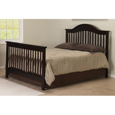 DaVinci Jayden 4-in-1 Convertible Crib with Toddler Rail in Espresso