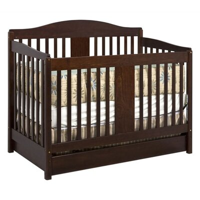 DaVinci Richmond 4-in-1 Convertible Crib with Toddler Rail in Espresso