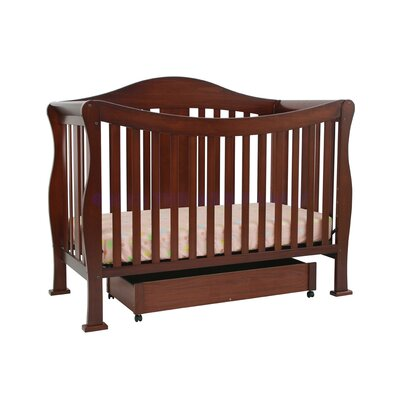 DaVinci Parker Two Piece Convertible Crib Set with Toddler Rail in Cherry Pine