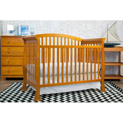 DaVinci Thompson Three Piece Convertible Crib Nursery Set  with Toddler Rail in Coffee