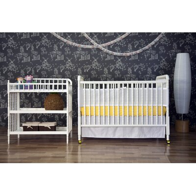 DaVinci Jenny Lind Two Piece Convertible Crib Set in White