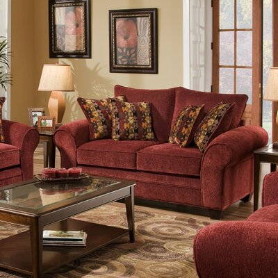 American Furniture Clayton Chenille Loveseat