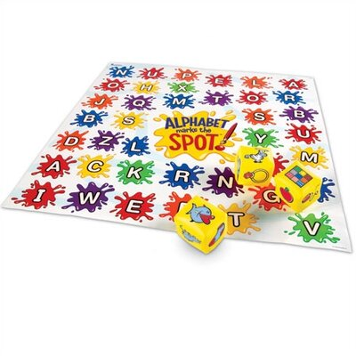 Learning Resources Alphabet Marks-the-Spot Floor Mat
