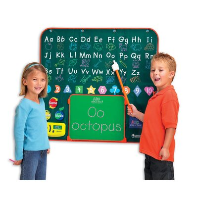 Learning Resources ABC Chalk Talk Electronic Learning Chalkboard