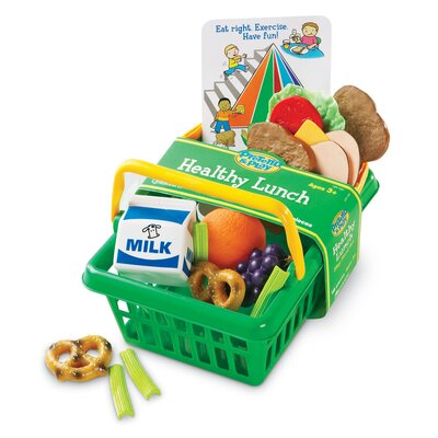 Learning Resources Pretend and Play® Healthy Lunch Basket