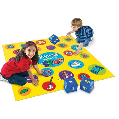 Learning Resources Rhyming Marks the Spot Floor Game