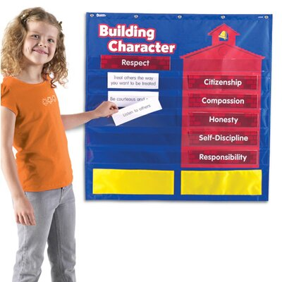 Learning Resources Character Building Pocket Chart