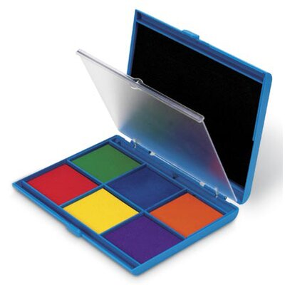 Learning Resources Jumbo Seven Color Ink Stamp Pad