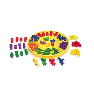 Learning Resources Beginning Sorting Set 168 Pieces