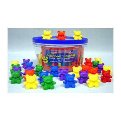 Counters Baby Bear 6 Colors 102-pk
