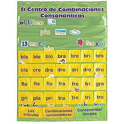 Learning Resources Spanish Blends Pc With Cards Chart