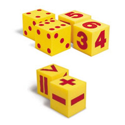 Learning Resources Giant Soft Cube Set 6/pk 1 Each