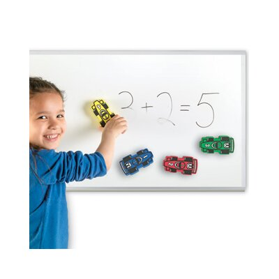 Learning Resources Magnetic Whiteboard Eraser (Set of 4)