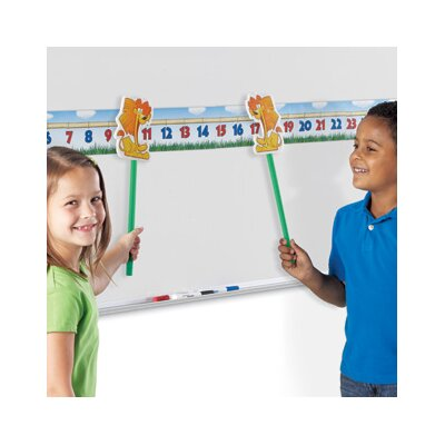 Learning Resources Number Lions A Magnetic Classroom Game