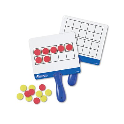 Learning Resources Magnetic Ten Frame Answer Board (Set of 4)