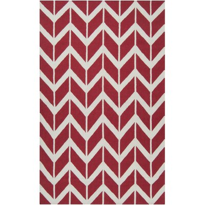 Jill Rosenwald Rugs Fallon Venetian Red Rug