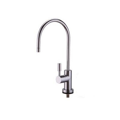 Tampa Single Handle Single Hole Kitchen Faucet with Concord Lever Handles