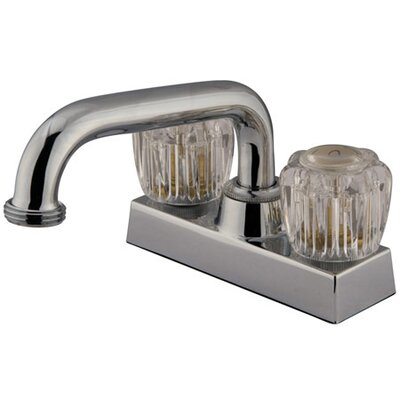 Elements of Design Centerset Laundry Faucet with Double Knob Handles
