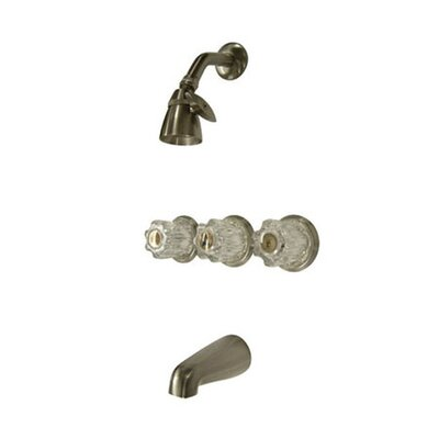 Elements of Design Diverter Tub and Shower Faucet