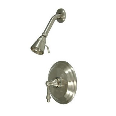 Elements of Design Vintage Thermostatic Pressure Balanced Shower Faucet with Metal Lever Handles