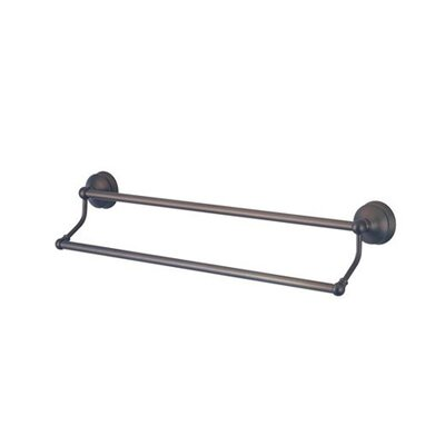 "Elements of Design Vintage St. Louis 24"" Double Towel Bar"