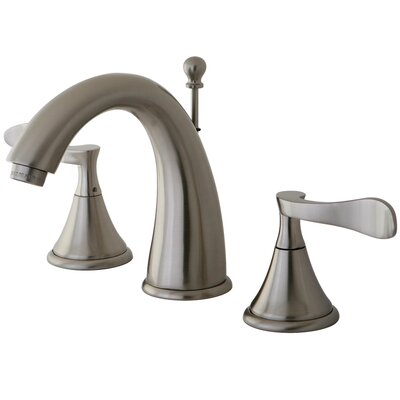 Elements of Design Century Double Handle Deck Mount Widespread Bathroom Faucet