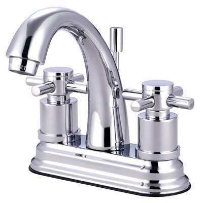 Concord Double Handle Deck Mount Bathroom Faucet - KS861