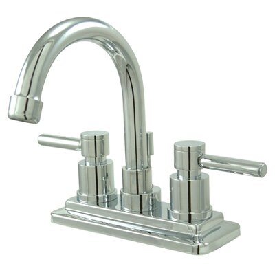 South Beach Double Handle Centerset Bathroom Faucet with Brass Pop-Up - ES866DL