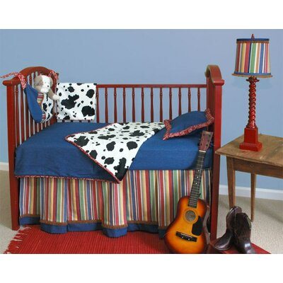 Doodlefish Western Toddler Coverlet and Pillow